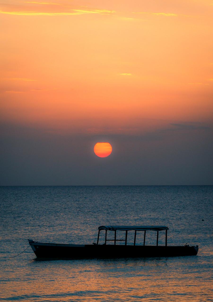 Sunset - Zanzibar, TZ