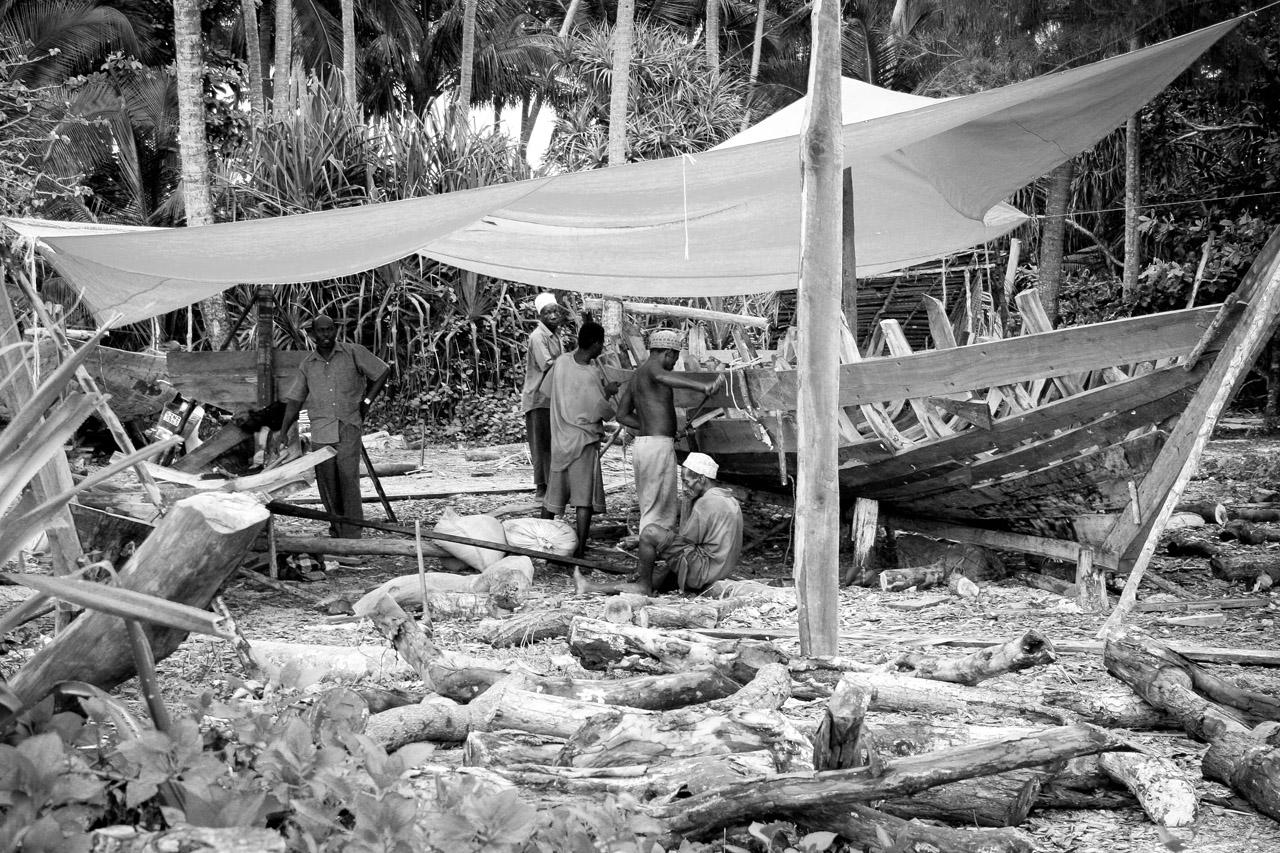 Boat Builders - Zanzibar, TZ
